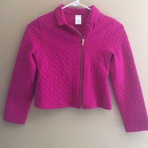Dark pink girls jacket